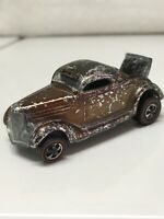 Hot Wheels Redline Classic 36 Ford Coupe 1968 Brown Made in United States