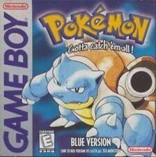 Pokemon Blue Nintendo Game Boy