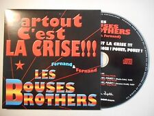 FERNAND & FERNAND : LES BOUSES BROTHERS ♦ CD SINGLE PORT GRATUIT ♦