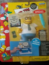 The Simpsons -Series 10 - Dr Marvin Monroe- Interactive Figure- New on card!