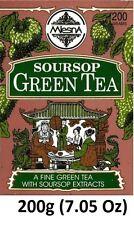 Mlesna Pure Ceylon Soursop Green Tea Graviola Loose Tea 200g (7.05 Oz)