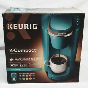 KEURIG K-Compact Coffee Maker Single-Serve K-Cup Pod - Turquoise