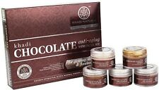 Khadi Natural Chocolate Anti-Aging Mini Facial Kit For Glowing, Soothing Skin