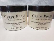Crepe Erase Body Repair treatment Lotion set of 2- 10 OZ each