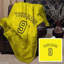 Couvertures jaunes pour le lit Chambre
