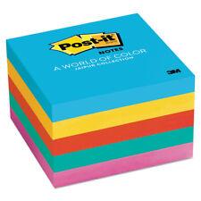 Post-it Original Pads in Jaipur Colors 3 x 3 100-Sheet 5/Pack 6545UC