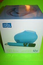 NEW THE SINGING MACHINE 4TV KARAOKE SYSTEM BLUE KARAOKE LYRICS ON TV SCREEN MIC