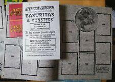 Empty Basuritas y Monsters Black Suplemento Album Argentine Garbage Pail Kids