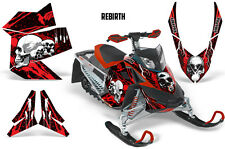 SIKSPAK Sled Wrap Ski Doo Rev XP Summit Snowmobile Graphics Kit 08-12 REBIRTH R
