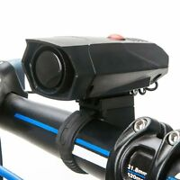 Ultra-loud Speaker Black Electronic Bicycle 6Sound Alarm Bell Bike Siren Horn KY