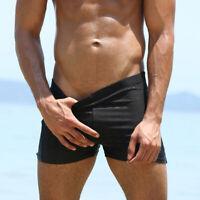 Men's Swimwear Swim Surf Trunks Shorts Floral Bathing suit Square Leg Quick-dry