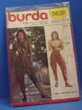 VTG Burda Pants, Pattern 5639 Size 34-44, 8-18 NIP