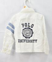 Polo Ralph Lauren Toddler Boys' Oxford Button Down Shirt, White, Size 3T, NwT