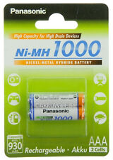 2x Telefon Akku f. Panasonic KX-TG8522 6571 6522  Accu Aku Acku Batterie Battery