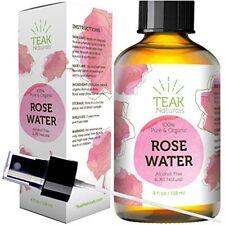 Tónico Facial Agua De Rosas 100% Natural Orgánico Limpieza Cutis Piel Facial
