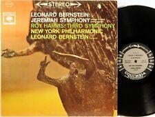 COLUMBIA 6-EYE STEREO Bernstein Jerimiah ROY HARRIS 3rd Symphony MS-6303 NM-