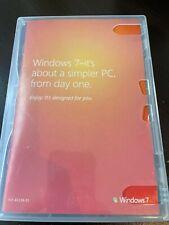 Microsoft Windows 7 Home Premium Upgrade DVD 64-bit