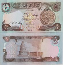 Irak. 1/2 dinar (UNC) 1985. Banknote