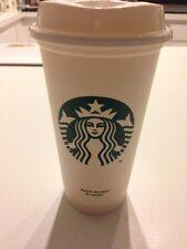Starbucks Reuasble Plastic Grande (16oz) Coffee/Tea Tumbler Recyclable Brand New