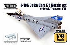 Wolfpack 1/48 Resin F-106 Delta Dart J75 Engine Nozzle Revell/Trumpeter WP48215