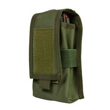NcStar CV2MRP2972G OD GREEN Holds 2 Rifle Magazines or Two Way Radio MOLLE Pouch