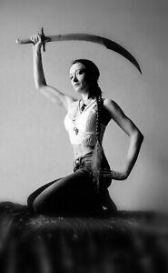 Belly Dance Dancer Baladay Scimitar Shamshir Curved Sword + Sheath Balanced