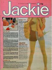 Jackie Magazine 18 July 1981 No. 915   Rainbow   Whitesnake  Gillan  Iron Maiden