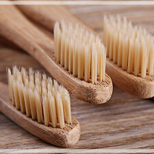 8 PCS/lot Genkent Bamboo Toothbrush Oral Care Healthy Medium Beige Bristles Eco