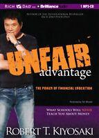 Unfair Advantage: Robert T. Kiyosaki - MP3 CD  – Audiobook