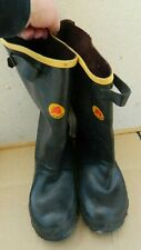 """New listing Men's LaCrosse 14"""" Pullover Black Rubber Rain Boots-Sz 6-USA Made-New With Tag"""