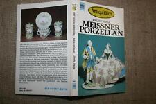 Sammlerbuch altes Meissner Porzellan Porzellanfiguren Weinlaub Schwerter Marke