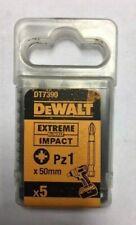 Dewalt Extreme impact drill bits Pz1 50mm pack 5