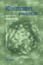 NEW HCI related papers of Interacción 2004