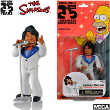 """NECA The Simpsons Series 1, James Brown, Action Figurine, 25th Anniversary, 5.1"""""""
