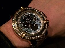 INVICTA #5541 SUBAQUA NOMA III DIAMOND SWISS VALJOUX 7750 AUTOMATIC LE 25 JEWEL