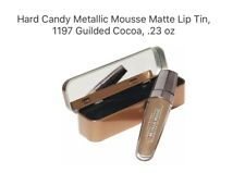 Hard Candy Metallic Mousse Matte Lip Tin, 1197 Guilded Cocoa, .23 oz