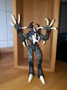"""Venom-Echse"" Spiderman Actionfigur Marvel Comics 30cm 90s"