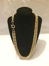Collar de bisutería color principal oro sin piedra