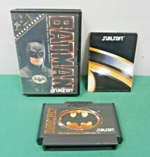 NES -- BATMAN -- Boxed. very popular action. Famicom, Japan Game. 10665