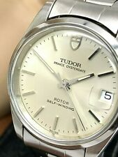 TUDOR By Rolex Prince Oysterdate 72000 Rotor Swiss Automatic 31.5mm Silver Watch