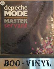 "Depeche Mode Master And Servant 1984 UK 7"" 45rpm Single 7 Bong 6 Ex Con"