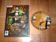 SPELLFORCE 2...gold édition...jeu complet...sur PC