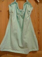 Girls fancy pretty blue top size 152/ 158 age 12/13