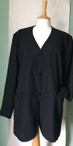 Ladies black tailored jacket by Essentials