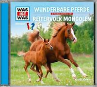Busch - WAS IST WAS Hörspiel-CD: Wunderbare Pferde/ Reitervolk Mongolen, 5643332