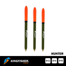 """WAGGLER FISHING FLOAT The Kingfisher """"Hunter"""" Pack of 3"""