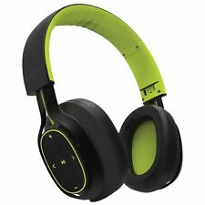 BlueAnt Pump Zone Wireless Sport HD Audio Headphones Up to 30 Hours Play - Green