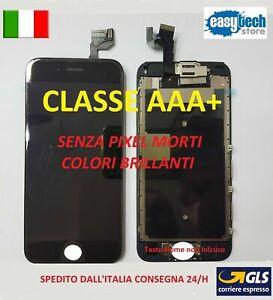 DISPLAY LCD TIANMA iPhone 6S PLUS COMPLETO - Fotocamera Frontale - Cassa NERO