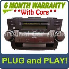 Toyota Highlander Jbl Am Fm Satellite Radio 6 Disc Changer Mp3 Cd Player Oem