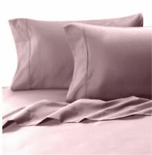 MicroTouch 600 Thread Count Sateen Standard Pillowcase (Set of 2) in Lilac